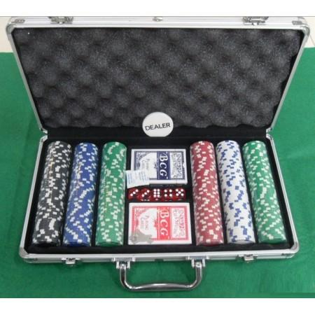 Texas Hold'em, pokerisetti metallisalkulla