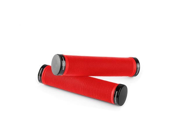 DARTMOOR Race kädensijat Lock-On, punainen