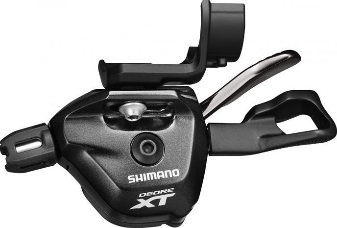 Shimano Deore XT SL-M8000 vaihdevipu vasen, musta