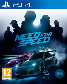 Need For Speed (2015), PS4-peli