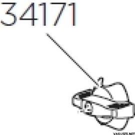 Thule Pikaruuvi pyörätelineisiin(TH 34171)