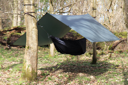 DD Hammocks SuperLight Tarp, laavukangas