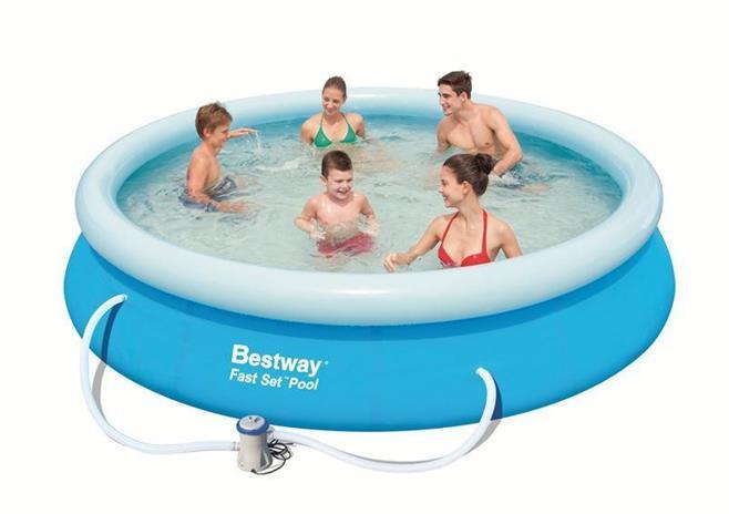 Bestway, fast set pool 366 x 76 cm with pump