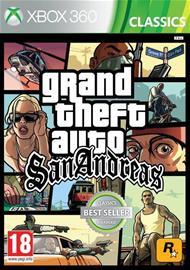 Grand Theft Auto (GTA): San Andreas, Xbox 360 -peli