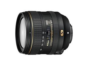 Nikon AF-S DX Nikkor 16-80mm f/2.8-4E ED VR, objektiivi