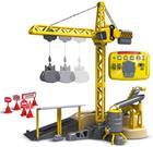 Silverlit IR Deluxe Crane Set, kauko-ohjattava torninosturi