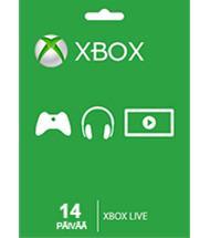 Xbox Live Gold 14 päivää