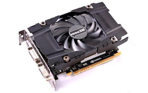 Inno3D GeForce GTX 750 Ti OC 2 GB, PCI-E, näytönohjain