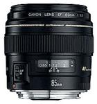 Canon EF 85mm f/1.8 USM, objektiivi
