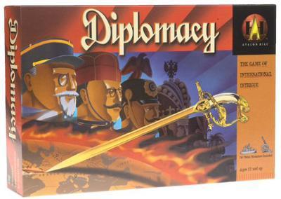 Diplomacy ENG, lautapeli