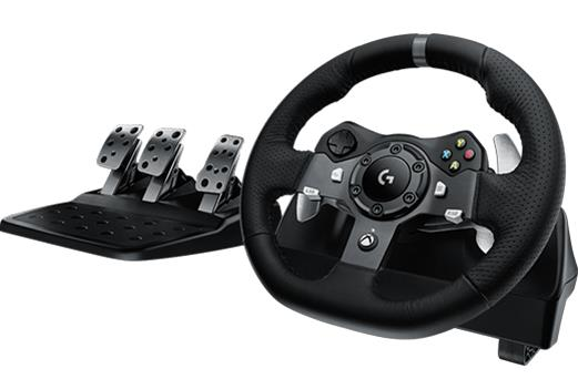 Logitech G920 Driving Force (Xbox One), rattiohjain