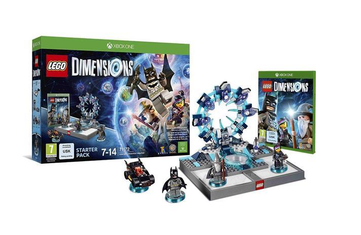 Lego Dimensions Starter Pack, Xbox One -peli