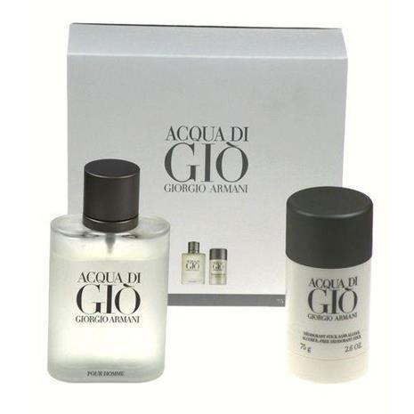 Giorgio Armani Acqua di Gio Lahjapakkaus miehelle - EdT 100 ml + Deo Stick 75 ml