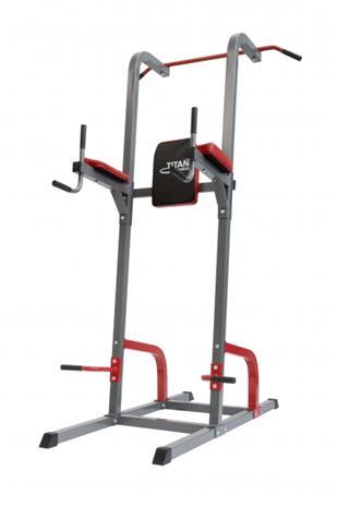 Titan Power Gym Trainer, dippi- ja leuanvetoteline