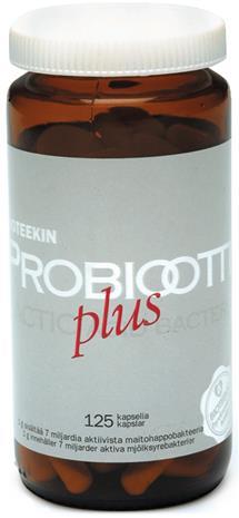 Bioteekin Probiootti Plus, 125 kaps.