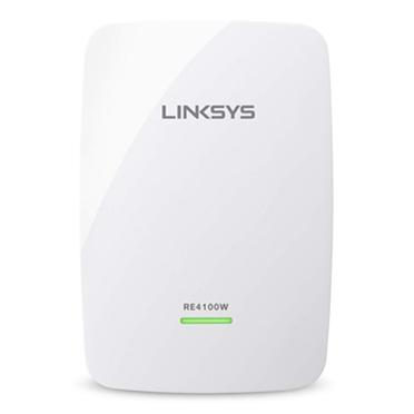 Linksys RE4100W N600 Dual-Band Wireless Range Extender