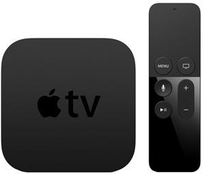 Apple TV 64GB (4th gen), mediatoistin