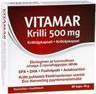Vitamar Krilliöljy 500 mg, 60 kaps.
