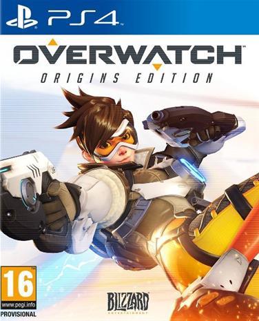Overwatch, PS4-peli