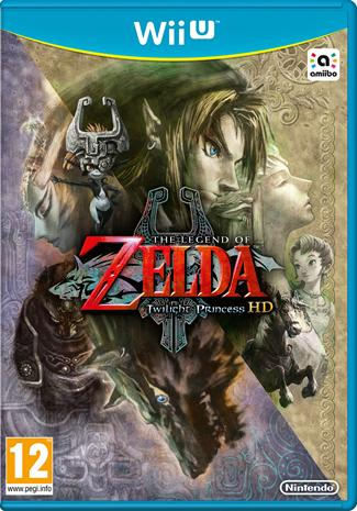 The Legend of Zelda: Twilight Princess, Nintendo Wii U -peli