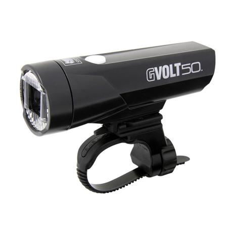 Cateye GVolt 50 HL-EL550GRC LED front light black