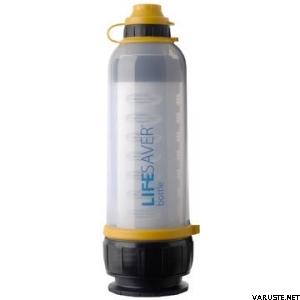 LifeSaver bottle 4000UF, vedenpuhdistin