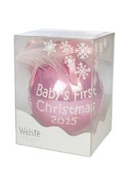 Weiste Baby's First Christmas, vauvan vuosipallo