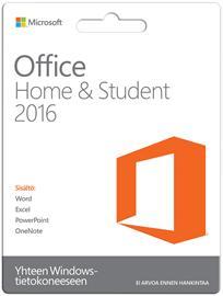Microsoft Office Home & Student 2016, suomenkielinen