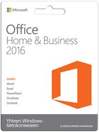 Microsoft Office Home & Business 2016, suomenkielinen