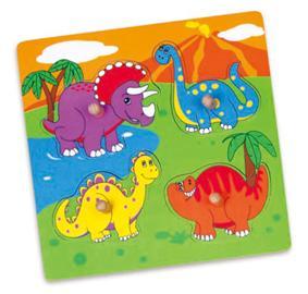 Woodlii Palapeli, Dinosaurukset