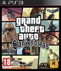 Grand Theft Auto (GTA): San Andreas, PS3-peli