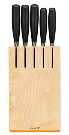 Fiskars Functional Form+, veitsitukki ja 5 veistä
