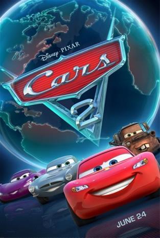 Autot 2 (Cars 2, Blu-Ray), elokuva