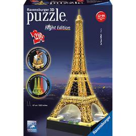 3D-palapeli öinen Eiffel-torni