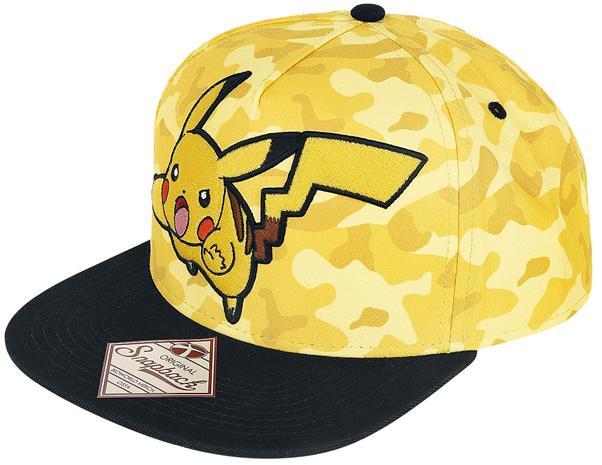 Pokémon Pikachu Camo, snapback-lippis