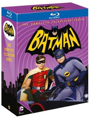 Batman: Kaudet 1-3 (1966, Blu-Ray), TV-sarja