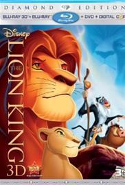 Leijonakuningas (The Lion King, Blu-Ray + dvd), elokuva