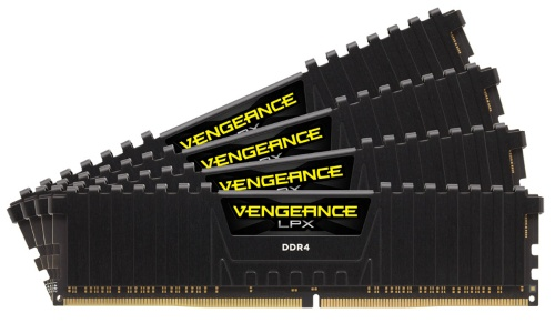 16 GB, 3200 MHz DDR4 (4 x 4 GB kit), keskusmuisti