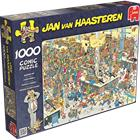 Palapeli - Jan Van Haasteren Jonotusta