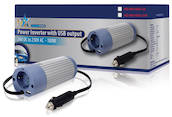 HQ 100W invertteri, 24V -> 230V + USB-virta
