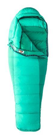Marmot Angel Fire makuupussi Regular Women, vihreä/turkoosi Makuupussi 2016