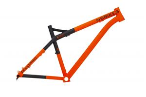 NS Bikes Eccentric 650B maastopyörärungot, oranssi Maastopyörän runko 2016