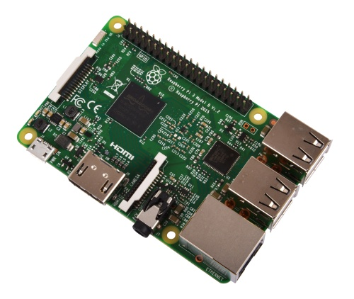 Raspberry Pi 3 (Model B, 1 GB), yhden piirilevyn tietokone
