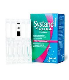Alcon Systane Ultra, kostutustipat 30 x 0,7 ml