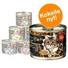 O'Canis for Cats -kokeilupakkaus 6 x 200 g - 5 makua