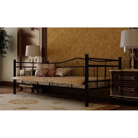Sohvasänky 90 x 200 cm, metallirunko
