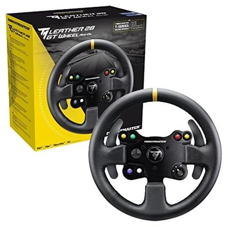 Thrustmaster Leather 28 GT Wheel Add-On, rattiohjain