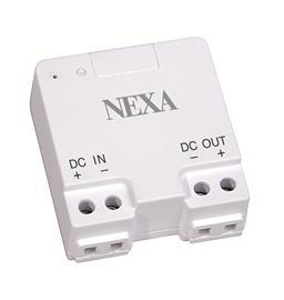 Nexa LDR-075, himmennin 12-24 V led-valonauhoille/valaisimille, joissa sisäänrakennettu muuntaja