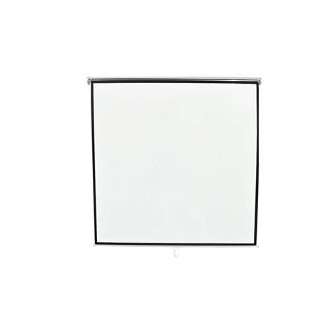vidaXL manuaalinen projektorikangas 194 x 107 16:9, valkokangas