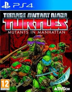 Teenage Mutant Ninja Turtles: Mutants in Manhattan, PS4-peli
